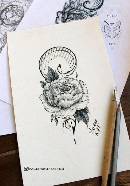 татуировки рисунки черно-белые