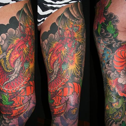 Татуировка дракон