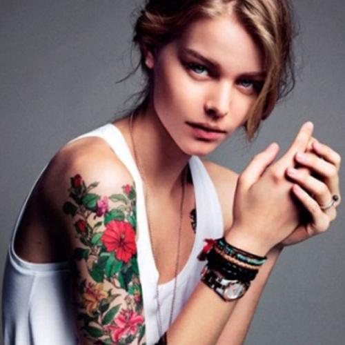 татуировки девушек на руке фото